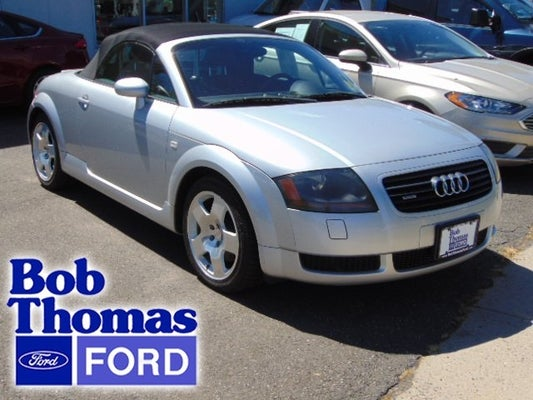 Bob Thomas Ford >> 2002 Audi Tt 2dr Roadster Qtr Hamden Ct New Haven North Haven East